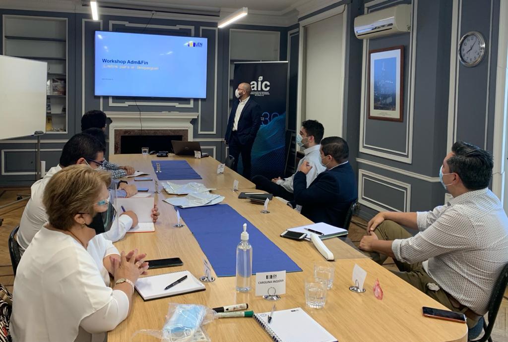 Reunión Equipo Adm y Finanzas